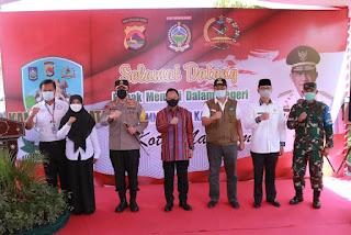 Mendagri Tito Karnavian Puji Kampung Sehat Dasan Cermen Kota Mataram