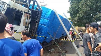 Supir Truk Rem Blong Tewaskan 5 Orang di Simalungun Jadi Tersangka