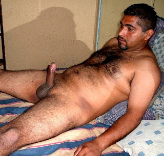 Video clips of gay hairy men
