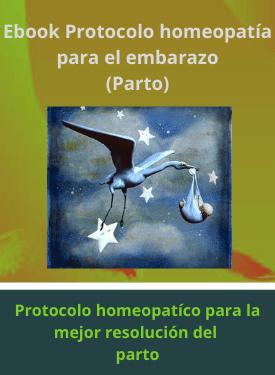 protocolo de homeopatía para el embarazo - parto