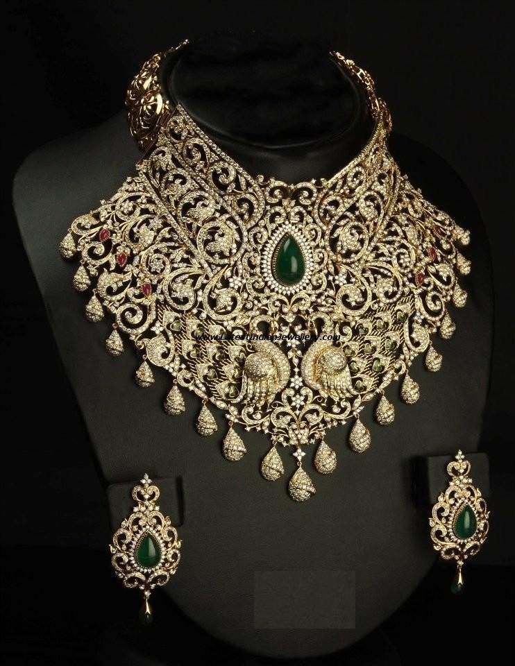 Heavy Diamond Necklaces