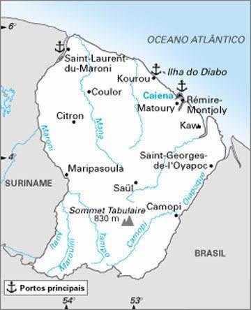 Guiana Francesa | Território da França