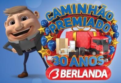 Cadastrar Promoção Berlanda Caminhão Premiado 30 Anos Aniversário 2021