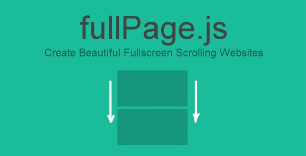 FullPage FullScreen Website Scrolling