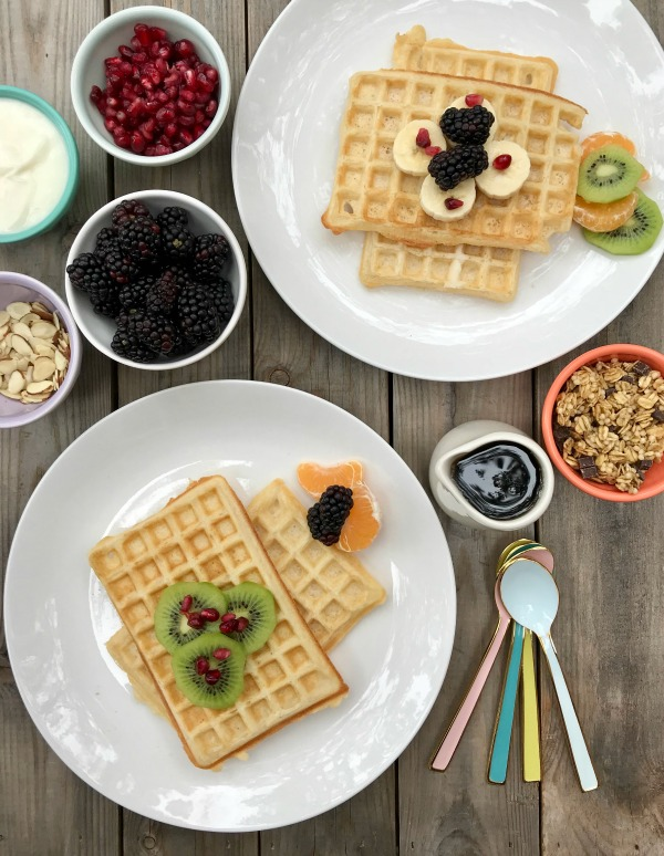 And Quick Breakfast Foods Like Smoothies Overnight Oats And Breakfast Cookies We Like To Take It Slow And Easy On The Weekend A Waffle Bar Is Just