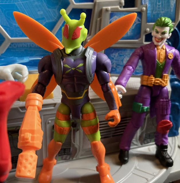 2020 Spinmaster Batman, Killer Moth, 2021 Joker, Man Bat, Target Exclusive, Batwoman
