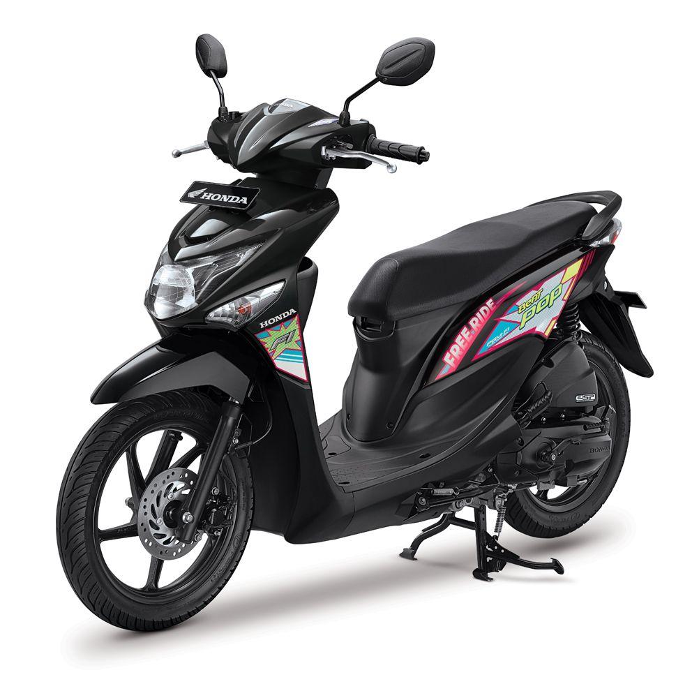promo harga cash/kredit sepeda motor honda beat pop bulan april