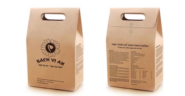 bột mầm đậu nành ngũ cốc nguyên chất bách vị an