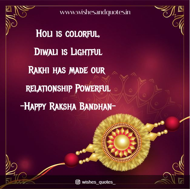 New Happy Raksha Bandhan Wishes Quotes and Images 2020