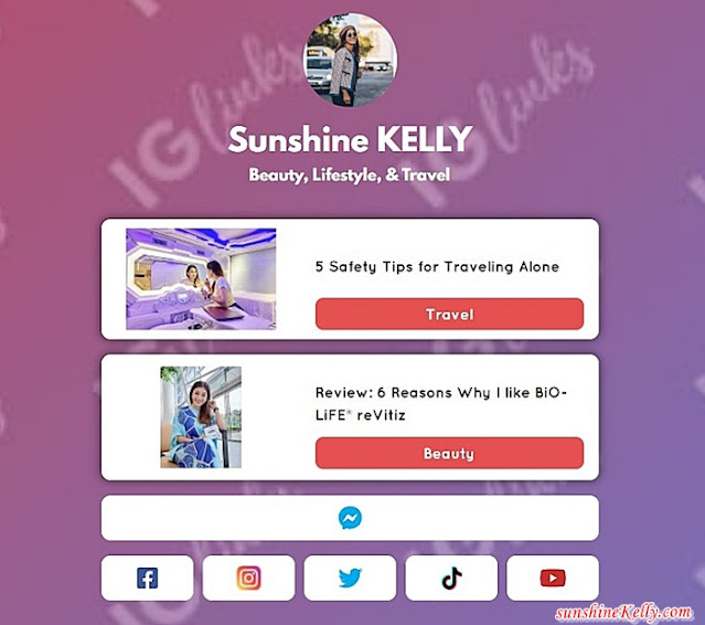 How To Setup IGLinks, Why It's Useful for Influencer, IGLinks, Tips for Influencer, Influencer Tips, Instagram Tools, Instagram, Lifestyle