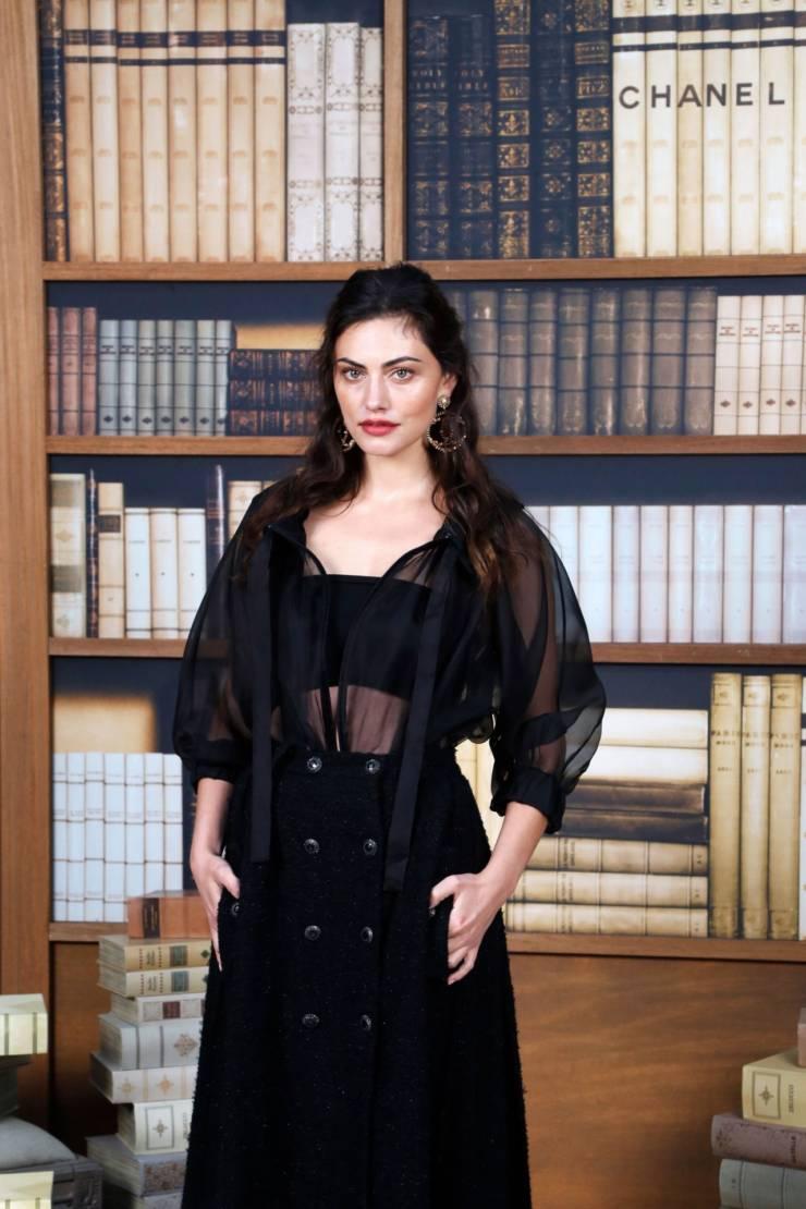 Australian Model Phoebe Tonkin at Paris Fashion Week