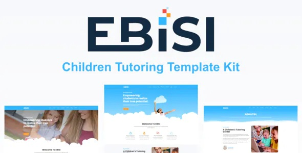 Best Children Tutoring Template Kit