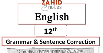 English Grammar Narration Pdf