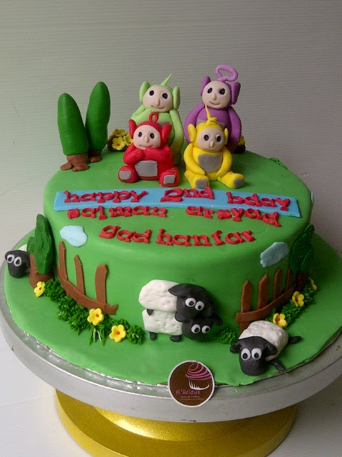 K Licious Cakes Teletubbies Amp Sheep Cake
