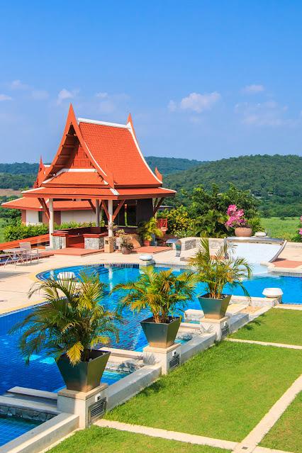 Современный дом с бассейном, Таиланд