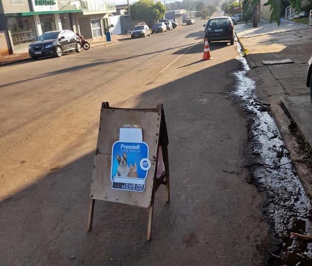 """Polêmica!!!! Alguns comerciantes de Roncador estão se achando os """"donos da rua""""?"""