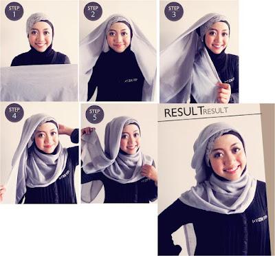Style Hijab Anak Muda Simple Masa Kini