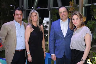 Jaime García, Karina De Los Santos, Ricardo Bordas y Amalia Troncoso.