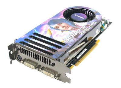 Nvidia GeForce 8800 GTSフルドライバーのダウンロード