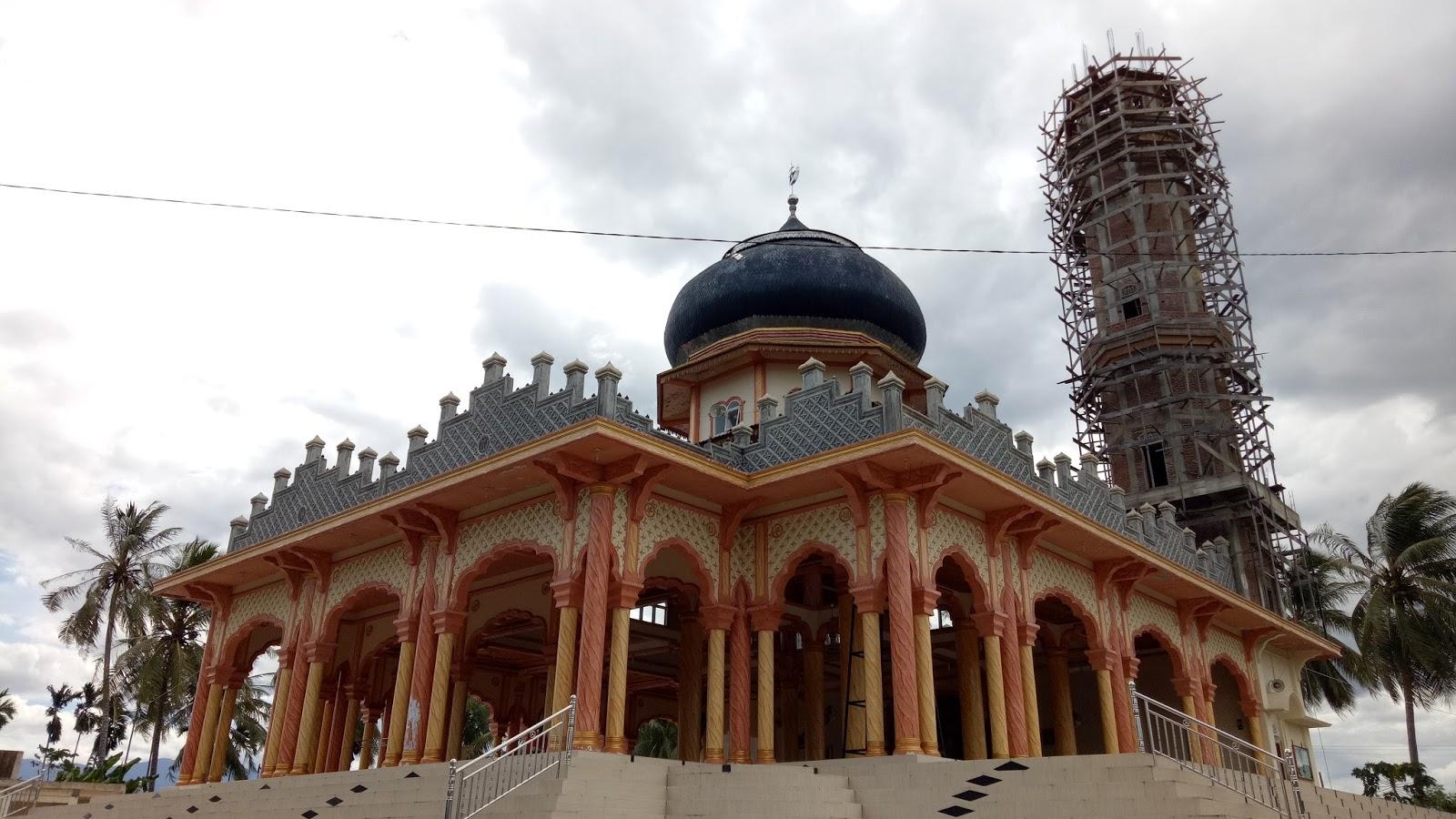 Masjid Poe Teumeuruhom Busu Dalam Sejarah Kesultanan Aceh