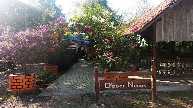 Tempat makan instagramable muara enim dapoer nenek