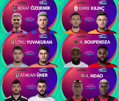 PES 2021 Turkey Süper Lig Facepack 2 by PES Football Turkey