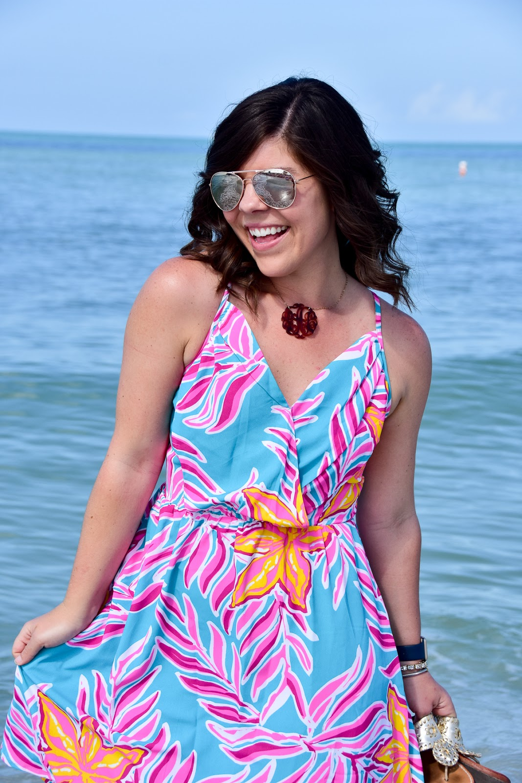 Toes in the Sand with Southern Frock