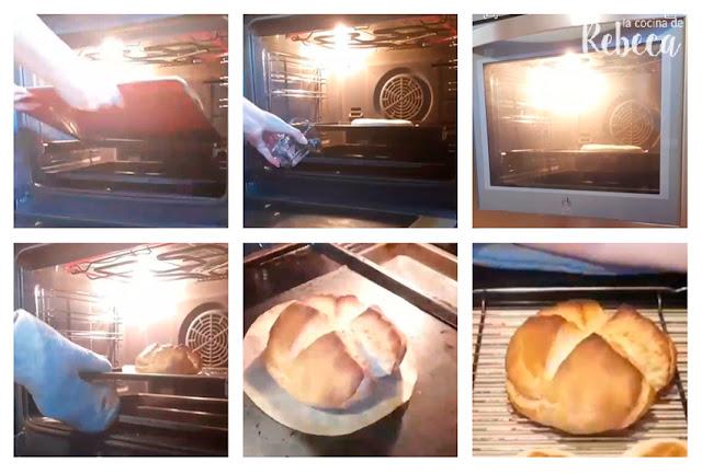 Receta de pan rápido: horneado de la hogaza