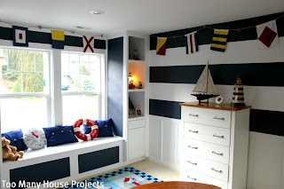 Too Many House Projects A Nautical Big Boy Room