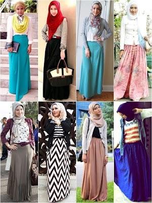 Baju Pesta Muslimah Brokat Yang Istimewa