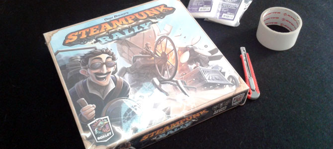 Unboxing Steampunk Rally