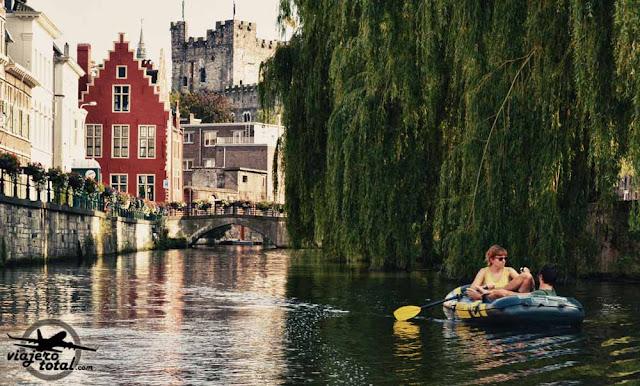 Gante - Ghent - Gent - Bélgica - Belgium - Canales