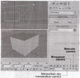 Mengatur Tampilan pada Viewport Camera