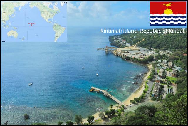 kiritimati island, Republic of Kiribati