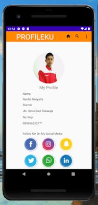 [#Coding] Membuat Tampilan Laman Profile Di Android Studio