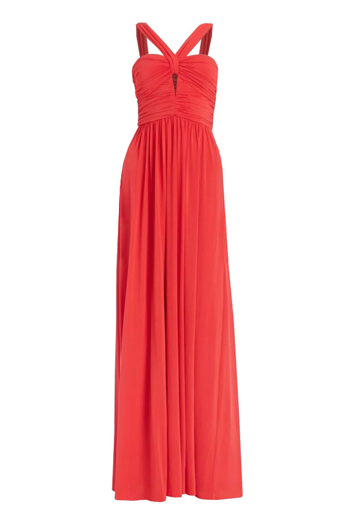 Iconic Gowns: Valane Rushed Dress by BCBG Max Azria