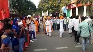 श्री गुरु नानक देव जी का 550 वा जन्मदिन बड़े हर्ष उल्लास के साथ सिख समाज ने मनाया