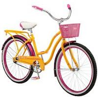 "Schwinn Madeline Girls 24"" Cruiser Bike-Orange"