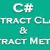 Introduction to Abstract Class and Abstract Method In C#