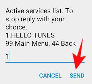 airtel me start service ko deactivate kese kare 5