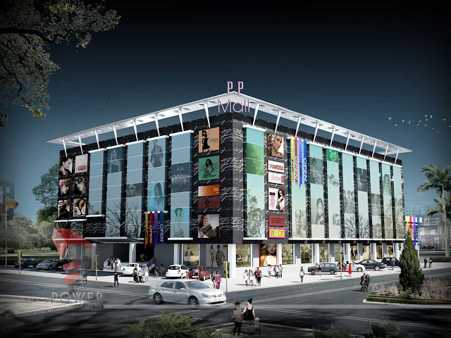 3d Mall Design, 3d architectural animation