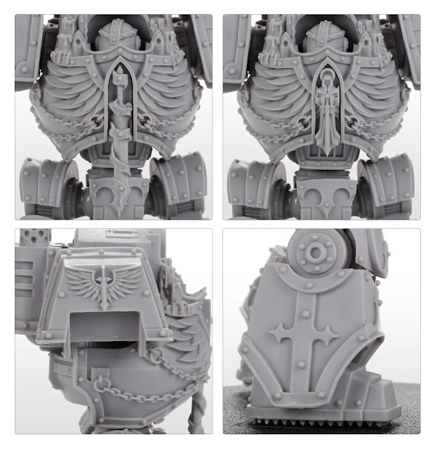 Dreadnought Contemptor Dark Angels
