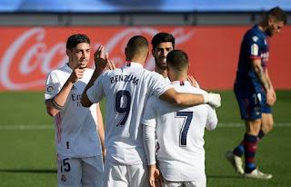 نتيجة مباراة ريال مدريد وانتر ميلان اليوم الأربعاء بتاريخ 25-11-2020 دوري أبطال أوروبا