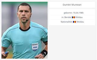 Μολδαβοί διαιτητές στο ΓΣΠ (ΑΠΟΕΛ - Dudelange)