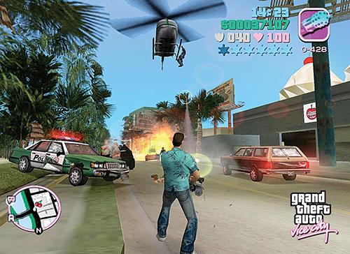 Game thủ chỉ cần lái xe tăng và gây náo loạn ở thành phố để chiếm 6 sao nhé