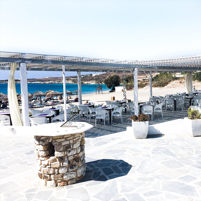 Martselo beach bar and restaurant, Paros island travel tips