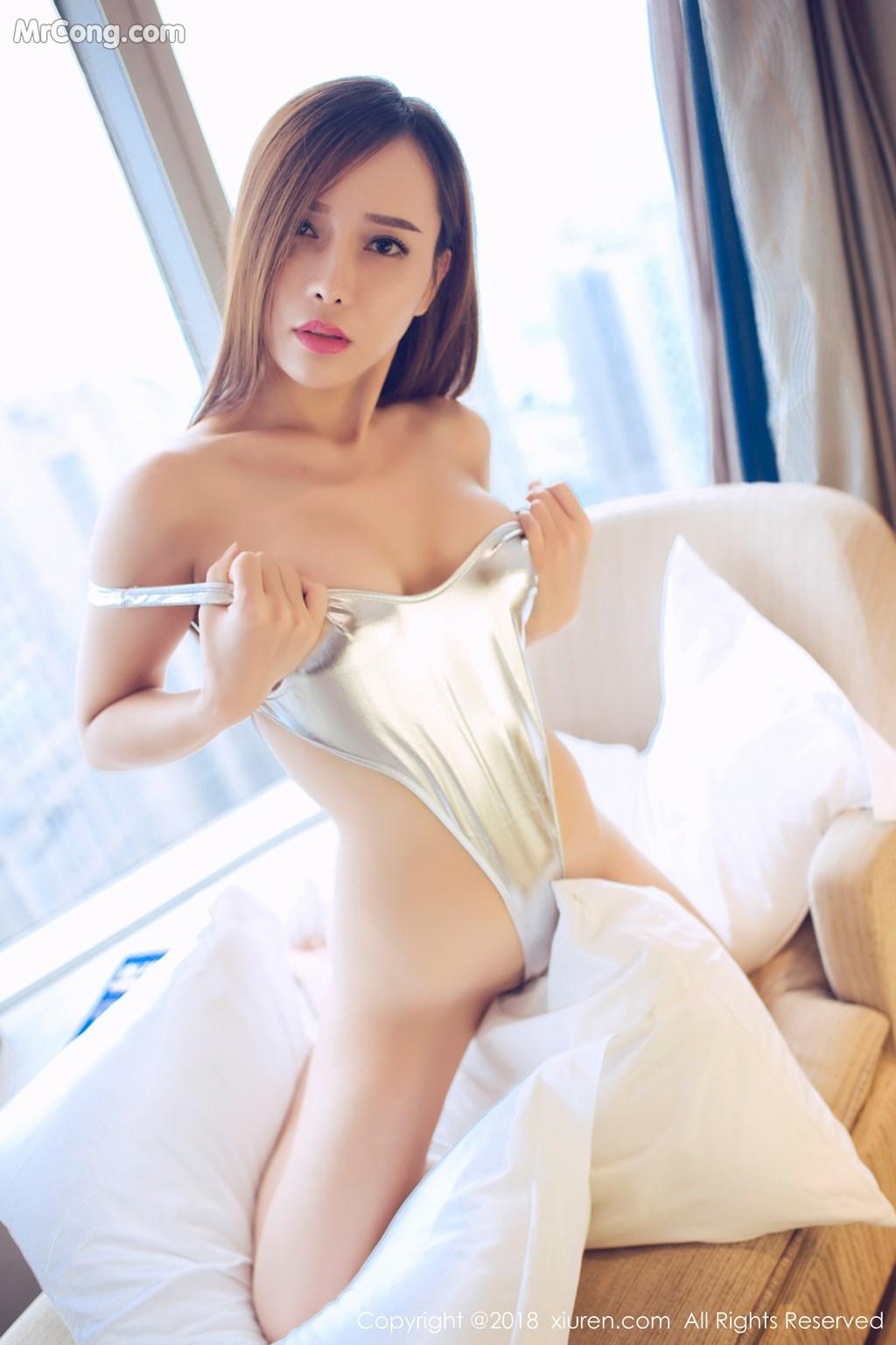 Image XIUREN-No.946-Ai-Xiao-Qing-MrCong.com-023 in post XIUREN No.946: Người mẫu Ai Xiao Qing (艾小青) (46 ảnh)