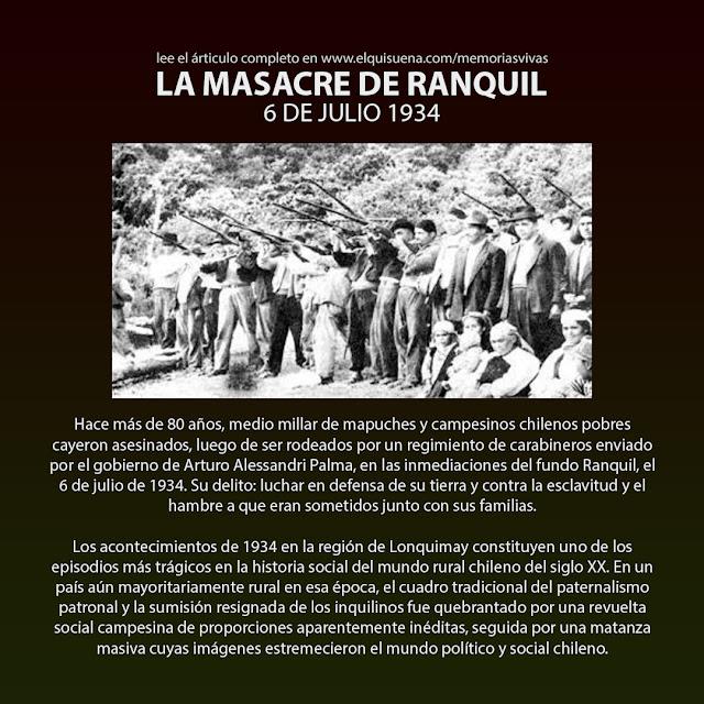 MEMORIA VIVA #10 - LA MASACRE DE RANQUIL