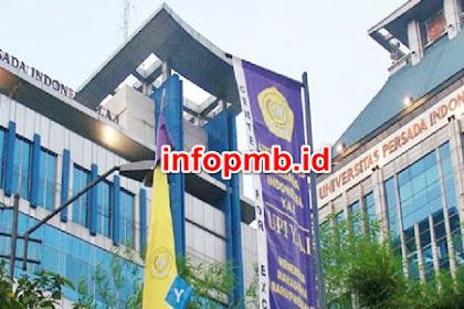 Informasi Pendaftaran Mahasiswa Baru (UPI-YAI) 2021-2022