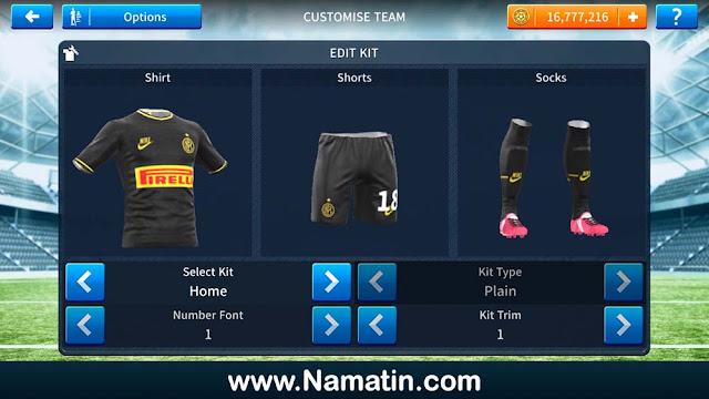 Baju Dream League Soccer Inter Milan 2019